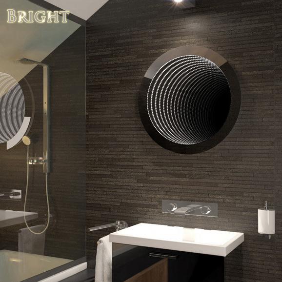 Perfect Reflection LED Bathroom Infinity Mirror
